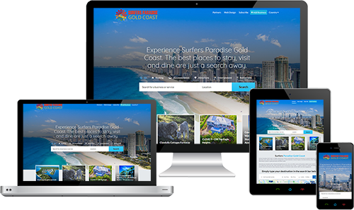 Surfers Paradise Gold Coast displayed beautifully on multiple devices