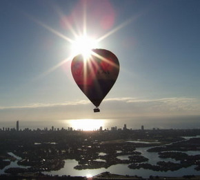 Balloon Down Under - Surfers Paradise Gold Coast