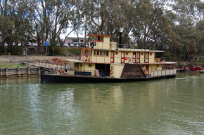Emmylou Paddle Steamer - Surfers Paradise Gold Coast