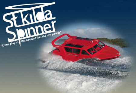 St Kilda Spinner Jet Boat Rides - Surfers Paradise Gold Coast