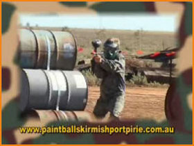 Paint Ball Skirmish Port Pirie - Surfers Paradise Gold Coast