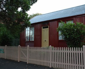 19th Century Portable Iron Houses - Surfers Paradise Gold Coast