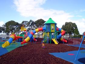 Millicent Mega Playground in The Domain - Surfers Paradise Gold Coast
