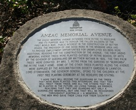 Anzac Memorial Avenue Redcliffe - Surfers Paradise Gold Coast