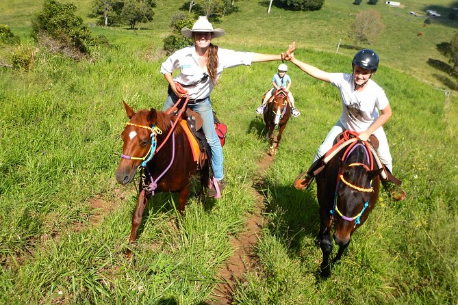 Country Day Ride from Mt Goomboorian with Rainbow Beach Horse Rides - Surfers Paradise Gold Coast
