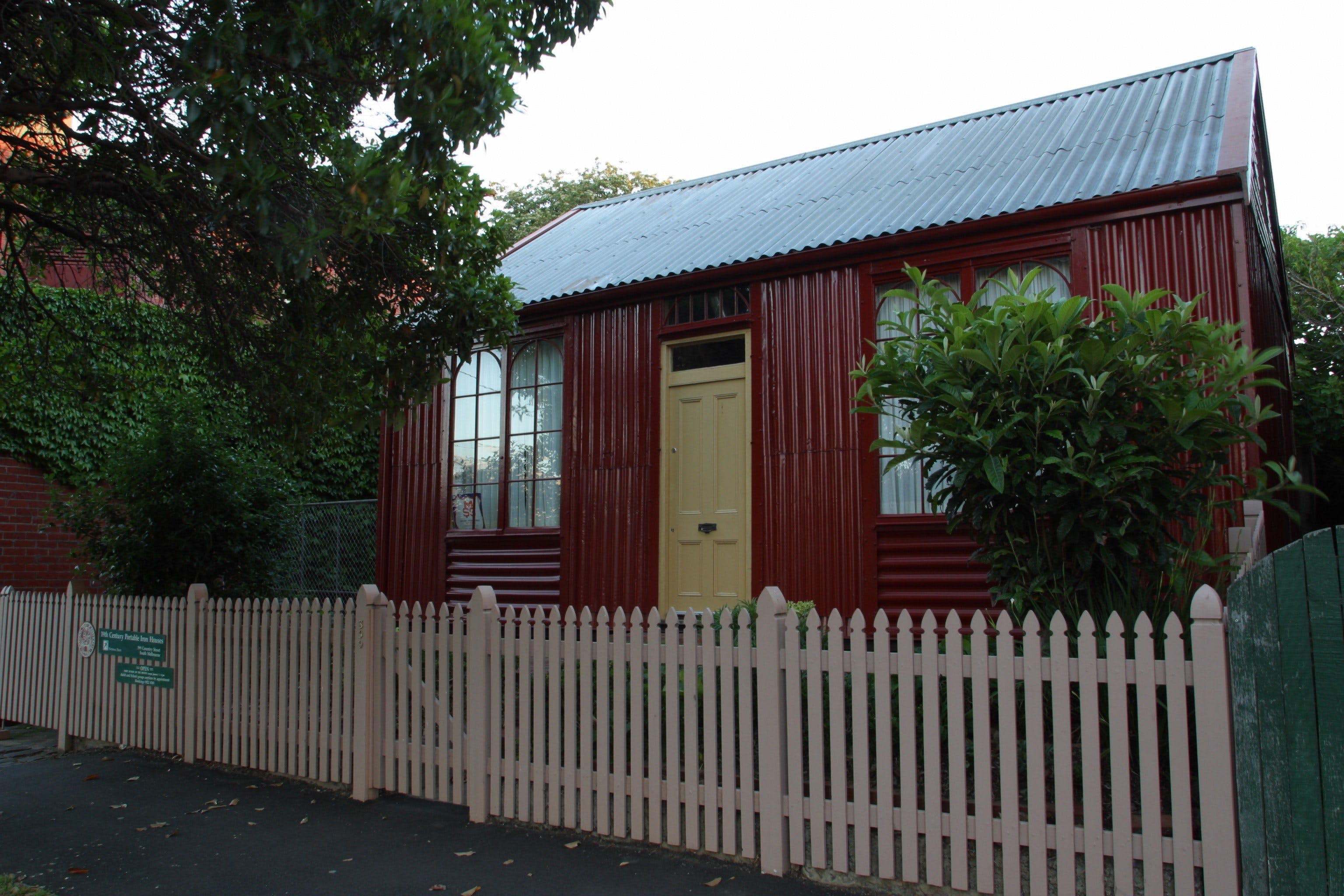 Portable Iron Houses - Surfers Paradise Gold Coast