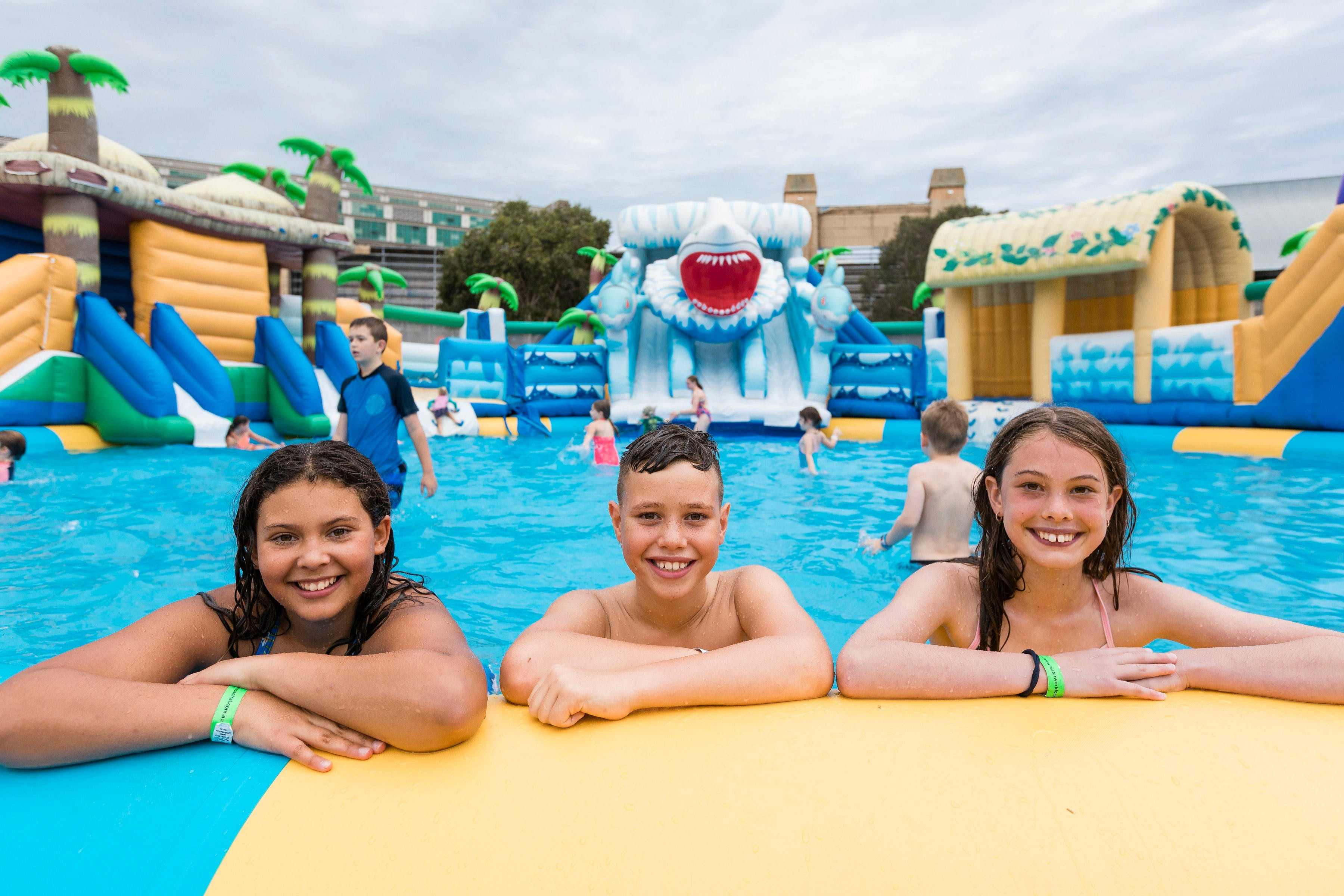 Waterworld Central - Mobile Inflatable Waterpark - Surfers Paradise Gold Coast