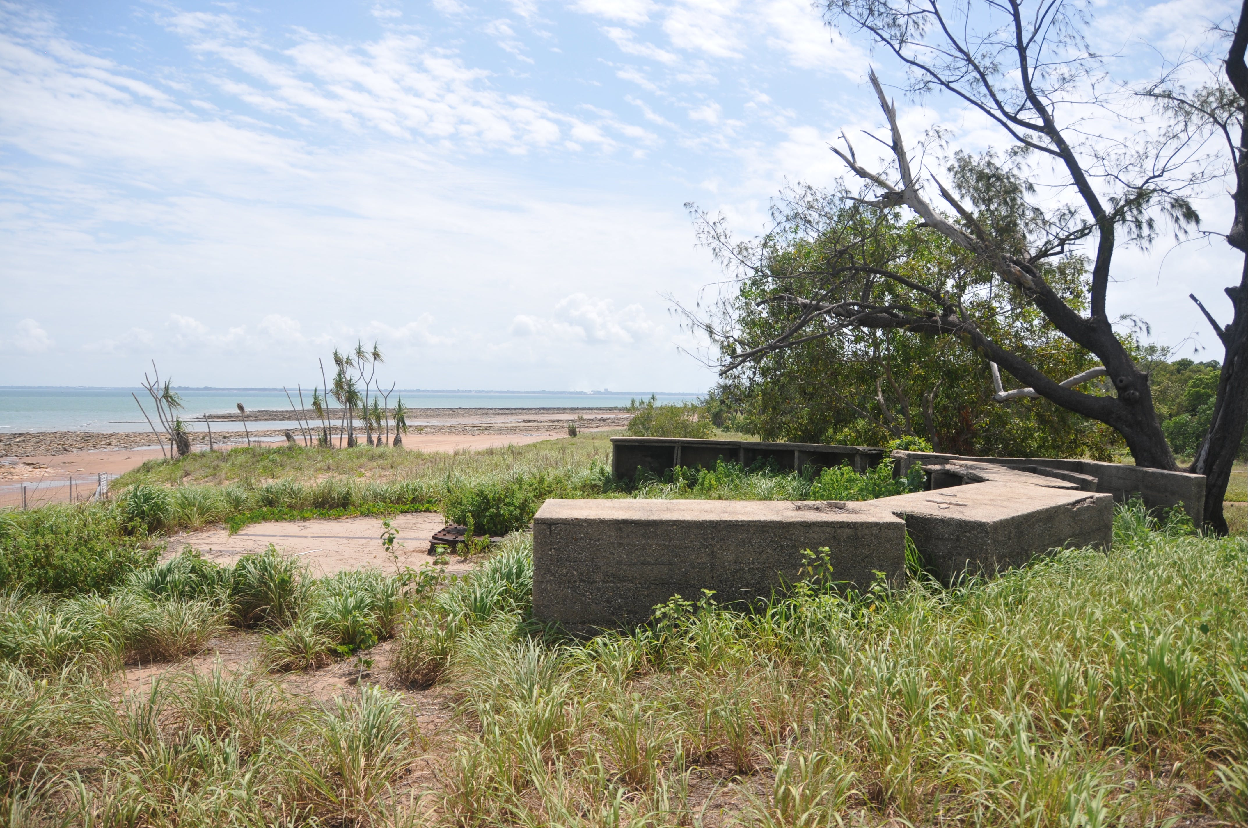 WWII Gun Emplacement Wagait Beach - Surfers Paradise Gold Coast