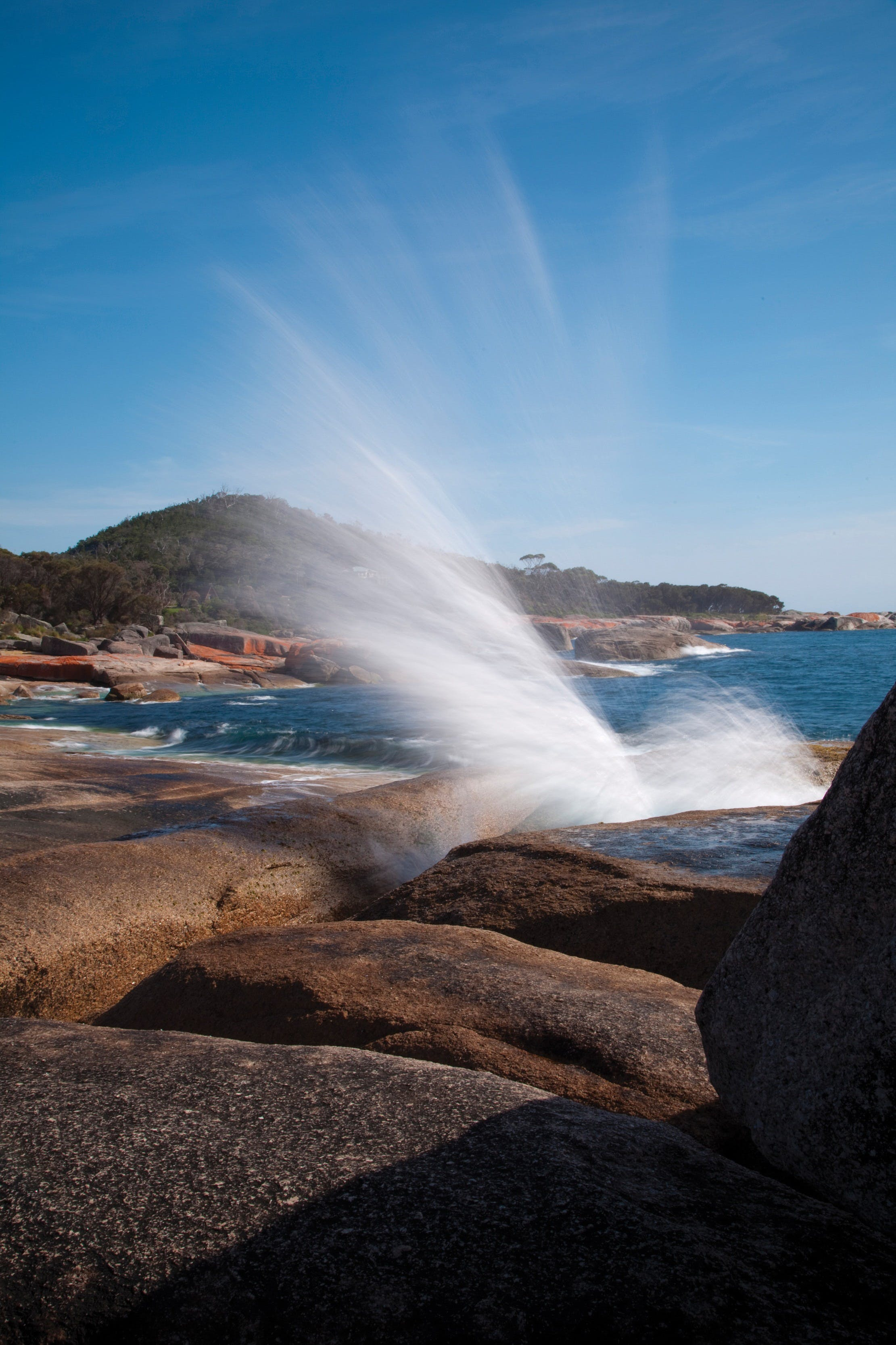 Bicheno Blowhole - Surfers Paradise Gold Coast