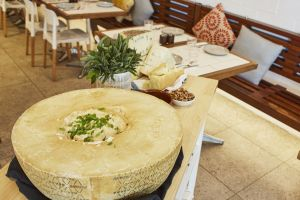 Flaming Cheese Wheel and Wine Experience Broadway - Surfers Paradise Gold Coast