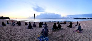 Making Meditation Mainstream Free Beach Meditation Sessions - Avalon Beach - Surfers Paradise Gold Coast