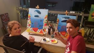 Paint and Sip Social Art Classes 2 for 1 - Surfers Paradise Gold Coast