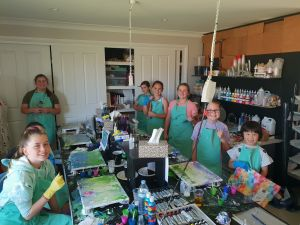 School holidays - Kids art class - Painting - Surfers Paradise Gold Coast
