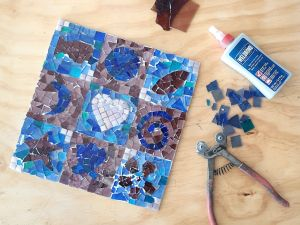 Intro to Mosaics Weekend with Leadlight By Ettore - Surfers Paradise Gold Coast