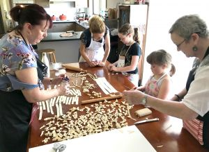 Kids Pasta Making Class - hands on fun at your house - Surfers Paradise Gold Coast