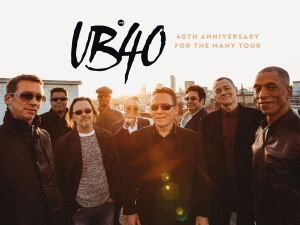 UB40 40th Anniversary Tour - Surfers Paradise Gold Coast
