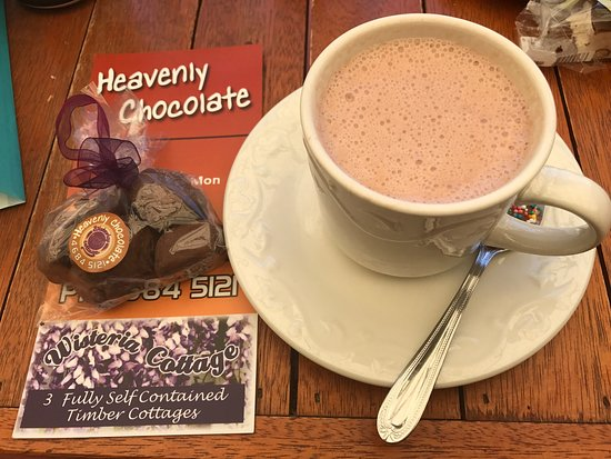 Stanthorpe's Heavenly Chocolate at Wisteria Cottage - Surfers Paradise Gold Coast