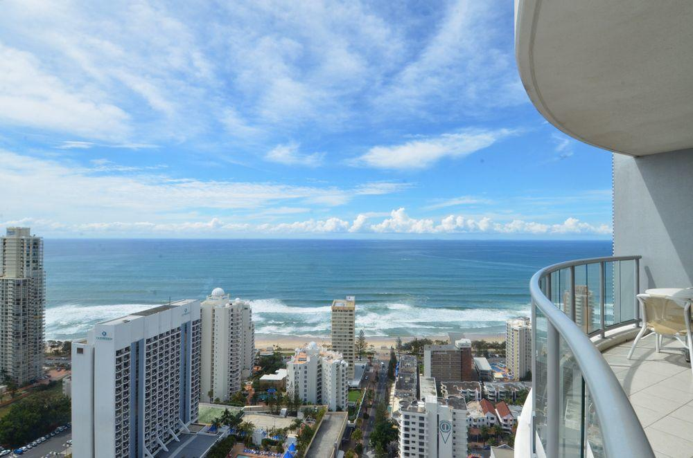 Ocean and Waterway View 34th Floor Chevron Renaissance Surfers Paradise